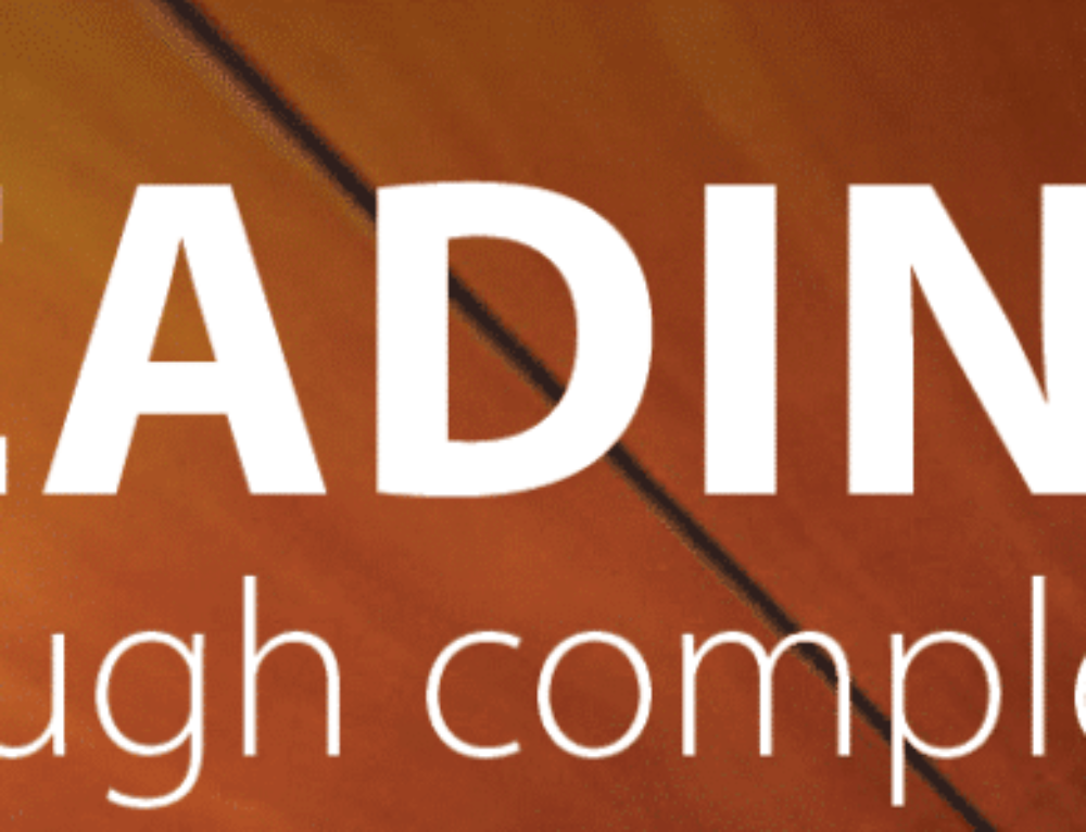 Leading through complexity