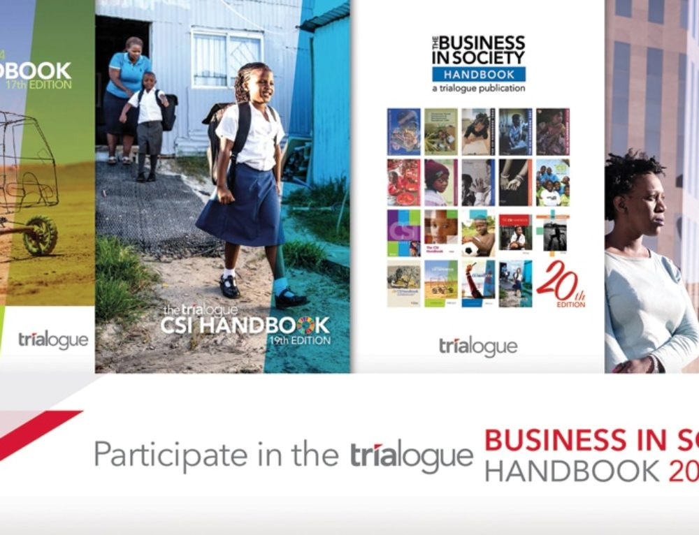 Ensure your NPO is visible to potential funders by listing in the Business in Society Handbook 2019