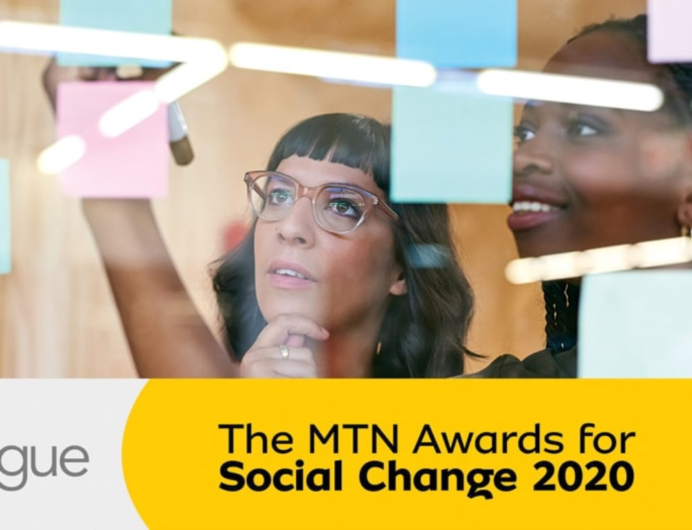 Call for entries: The MTN Awards for Social Change 2020