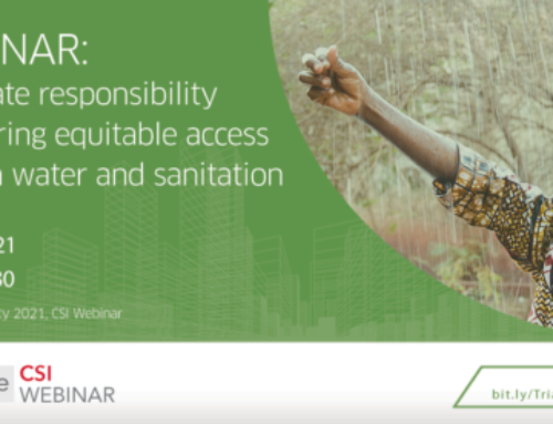 [WEBINAR] Corporate responsibility in ensuring equitable access to clean water and sanitation
